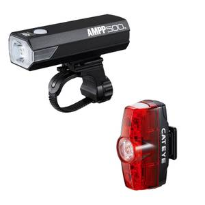 Cateye AMPP 500 & Rapid Mini Light Set