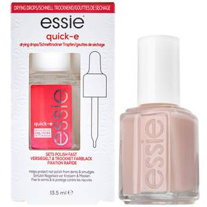 Essie Ballet Slippers Pink Nail Polish and Quick Dry Drops Kit Exclusive (Worth £16.98)