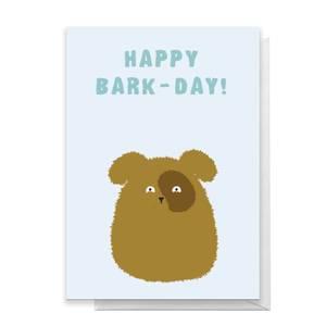Happy Bark-Day! Greetings Card