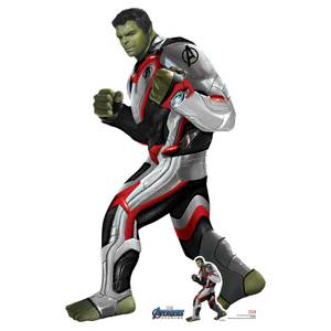 Marvel Hulk (Quantum Suit) Avengers Endgame Mini Carboard Cut-Out