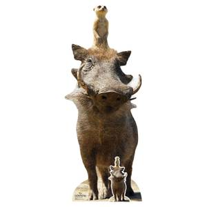 Timon and Pumbaa (Lion King Live Action) Life Size Cut-Out