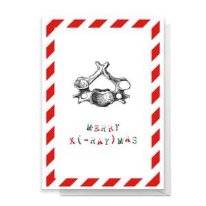 Merry X(-Ray)mas Hips Greetings Card