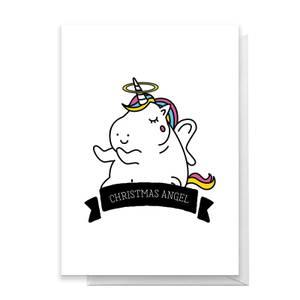 Christmas Angel Greetings Card