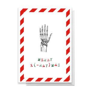 Merry X(-Ray)mas Hand Greetings Card