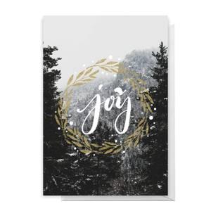 Joy Greetings Card