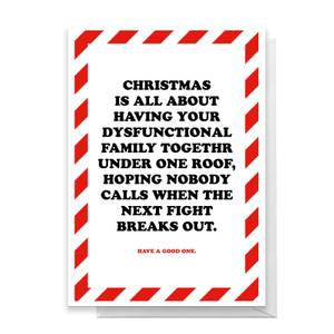 Christmas Is All About Greetings Card