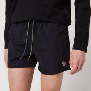 PS Paul Smith Men's Zebra Logo Swimshorts - Black