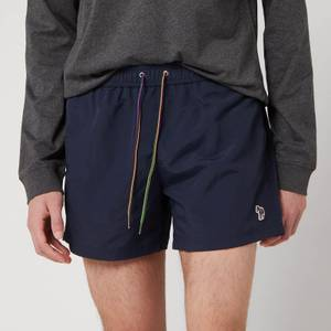 PS Paul Smith Men's Zebra Logo Swimshorts - Navy