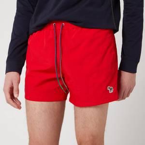 PS Paul Smith Men's Zebra Logo Swimshorts - Red