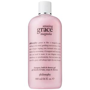 philosophy Amazing Grace Magnolia Shampoo, Bath & Shower Gel 480ml