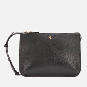 Lauren Ralph Lauren Women's Carter 26-Cross Body Bag - Medium - Black