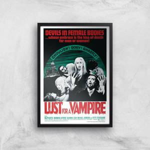 Devils In Female Bodies - Lust For A Vampire Giclee Art Print
