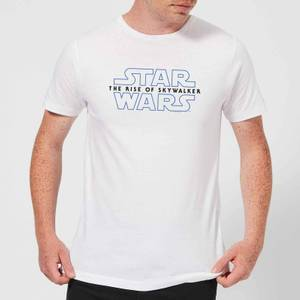 Star Wars: The Rise Of Skywalker Logo Men's T-Shirt - White