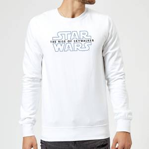 Star Wars The Rise Of Skywalker Logo Sweatshirt - White