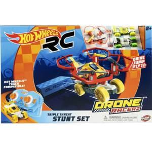Hot Wheels Bladez Drone Racerz - Triple Threat Stunt Set
