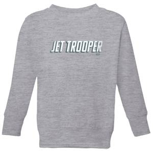 Star Wars The Rise Of Skywalker Jet Trooper Kids' Sweatshirt - Grey