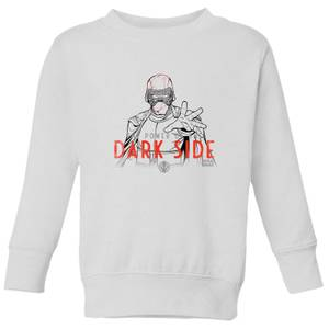 Star Wars The Rise Of Skywalker Kylo Darkside Powers Kids' Sweatshirt - White