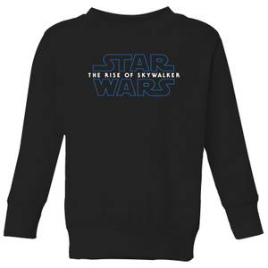 Star Wars The Rise Of Skywalker Logo Kids' Sweatshirt - Black