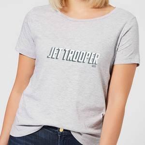 Star Wars The Rise Of Skywalker Jet Trooper Women's T-Shirt - Grey