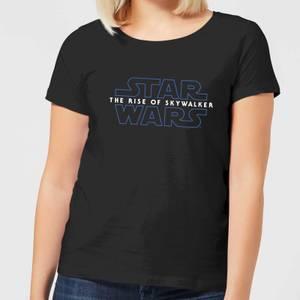 Star Wars The Rise Of Skywalker Logo Women's T-Shirt - Black
