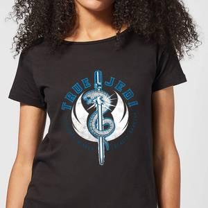 Star Wars The Rise Of Skywalker True Jedi Women's T-Shirt - Black