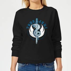 Star Wars The Rise Of Skywalker True Jedi Women's Sweatshirt - Black