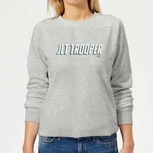 Star Wars The Rise Of Skywalker Jet Trooper Women's Sweatshirt - Grey