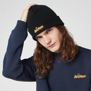 DC Batman Beanie Hat - Black