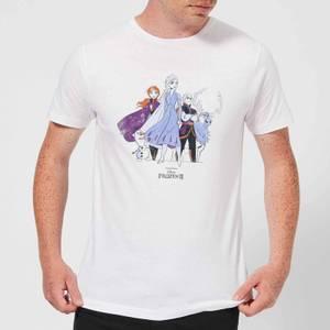 Frozen 2 Group Shot Men's T-Shirt - White