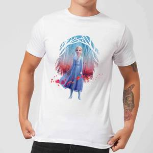 Frozen 2 Find The Way Colour Men's T-Shirt - White