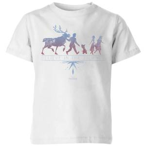 Frozen 2 Believe In The Journey Kids' T-Shirt - White
