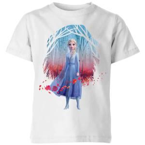 Frozen 2 Find The Way Colour Kids' T-Shirt - White