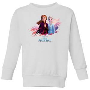 Frozen 2 Nature Is Beautiful Kids' Sweatshirt - White