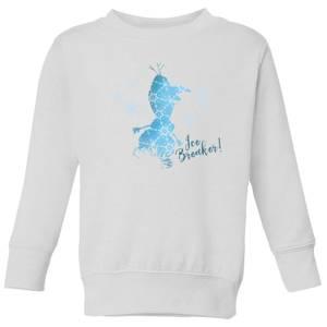 Frozen 2 Ice Breaker Kids' Sweatshirt - White