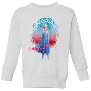 Frozen 2 Find The Way Colour Kids' Sweatshirt - White