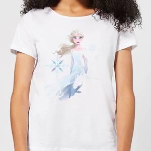 Frozen 2 Nokk Sihouette Women's T-Shirt - White
