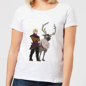 Frozen 2 Sven And Kristoff Women's T-Shirt - White
