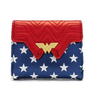 Loungefly DC Comics Wonder Woman International Women'S Day Flap Wallet