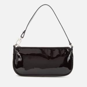 BY FAR Women's Rachel Patent Bag - Black