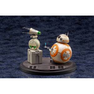 Kotobukiya Star Wars Episode IX ARTFX+ Statue 1/7 2-Pack D-O & BB-8 13cm
