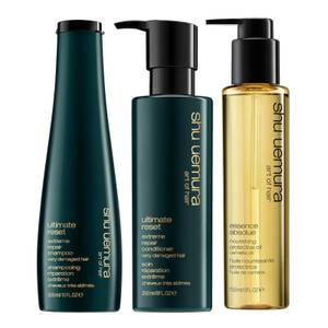 Shu Uemura Art of Hair The Strength and Shine Essential Trio for Damaged Hair