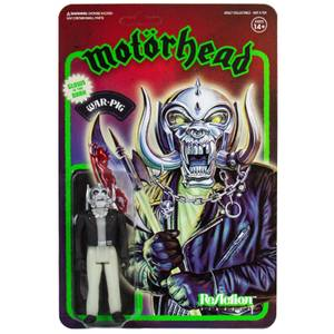 Super7 Motorhead ReAction Figure - Warpig (Glow-In-The-Dark)