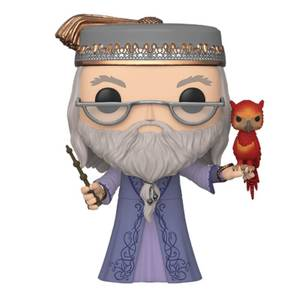 "Figura Funko Pop! - Dumbledore Con Fawkes 10""/25CM - Harry Potter"