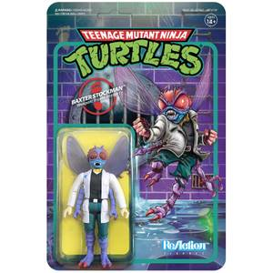 Super7 Teenage Mutant Ninja Turtles ReAction Figure - Baxter Stockman