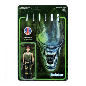 Super7 Aliens ReAction Figure - Vasquez