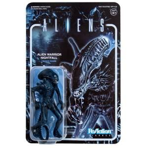 Super7 Aliens ReAction Figure - Alien Warrior Nightfall Blue