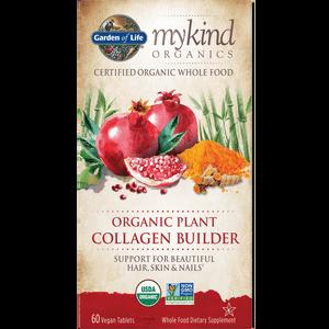 mykind Organics Pflanzenkollagebilder - 60 Tabletten