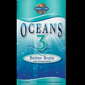 Омега-3 Oceans 3 - Brain Omega-3 ― 90 капсул