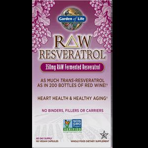 Raw Resveratrol - 60 capsules