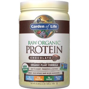 Raw Organic Protein - Chocolate - 660g